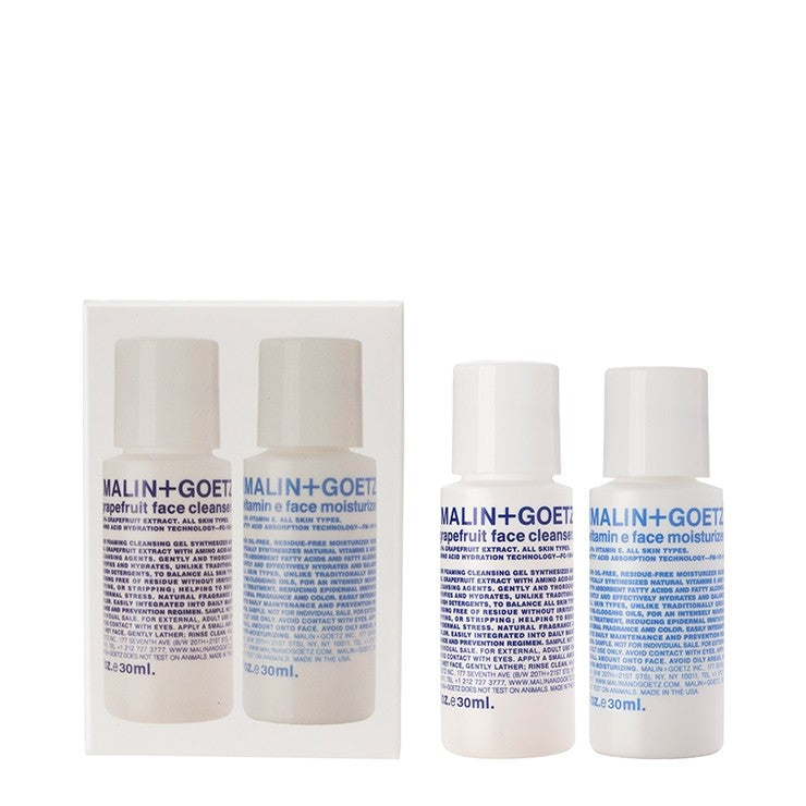 malin+goetz face essentials duo set