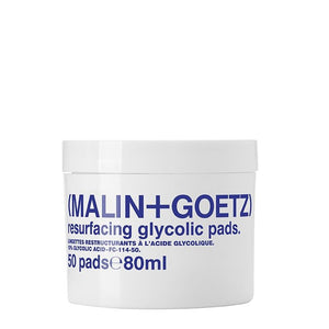 resurfacing glycolic acid pads. | (MALIN+GOETZ) HK