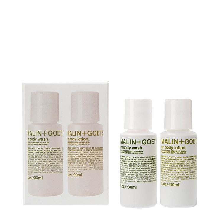 malin+goetz rum body duo set