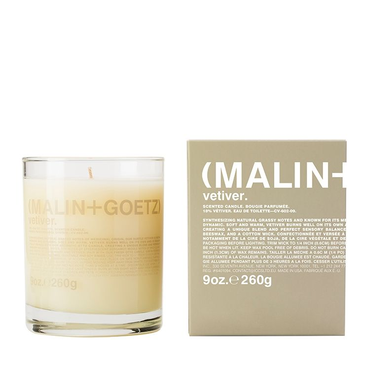 vetiver candle. | (MALIN+GOETZ) HK.