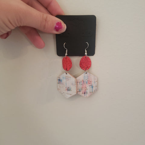 Red White and for YOU Earrings