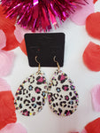 Multi Color Leopard Earrings