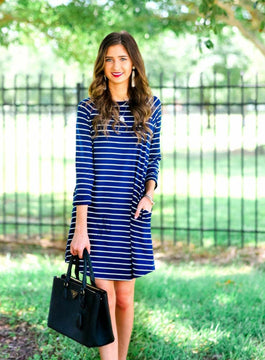 Striped Dress (2 Colors)