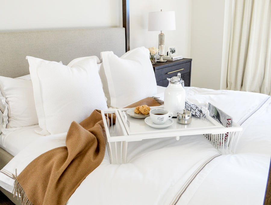 pure parima certified egyptian cotton triple luxe sateen sheets