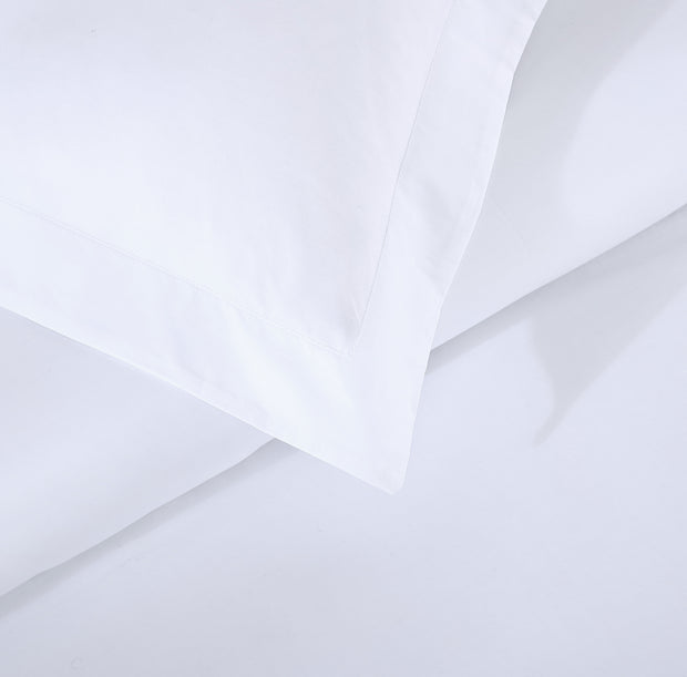 Hotel Collection Ultra Percale Duvet Cover Set in White | 100% ELS Giza Egyptian Cotton