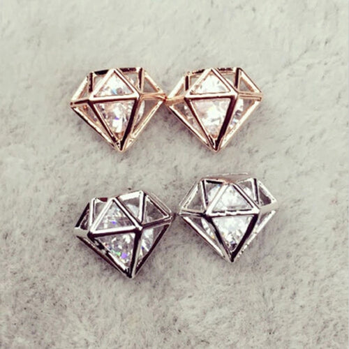 DIAMOND STUDS- Fashion Jewellery