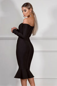 VIXEN- BLACK Dress | Jindigo Babe Melbourne