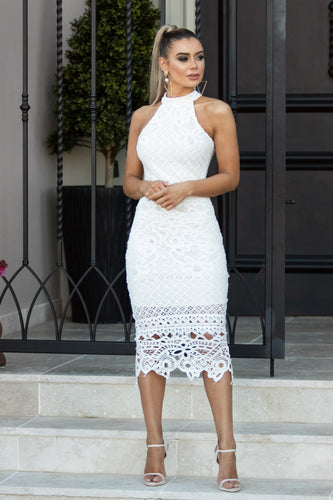 GABBY - White Lace Dress | Jindigo Babe Melbourne
