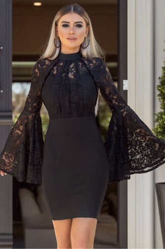ASHLEY – Black Dress | Jindigo Babe Melbourne