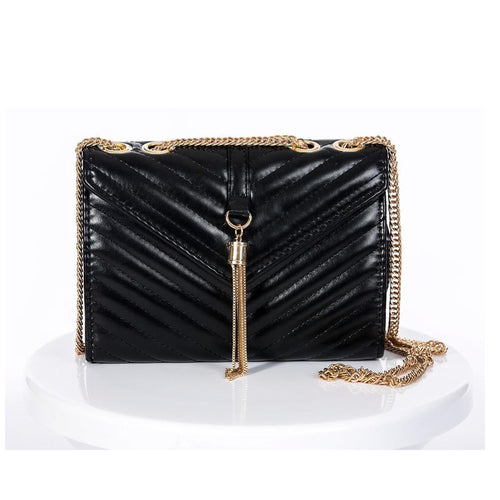 EVE 'TASSLE' FREE Black Mini Bag | Jindigo Babe Melbourne