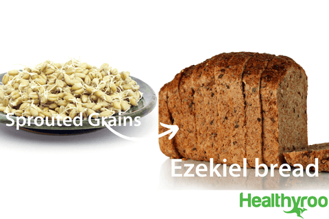Ezekiel bread and sprouted grains vegan protein