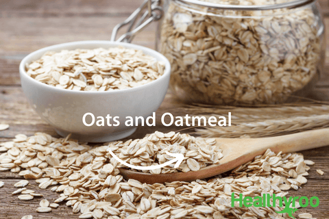 Oats and oatmeal vegan protein