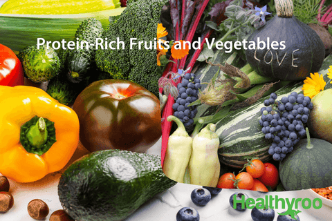 Protein rich fruit and vegetables vegan protein