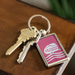 Women Who RV - Just a Woman... Keychain (Pink)