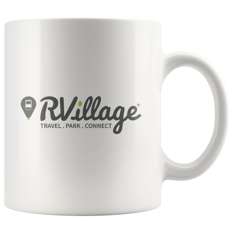 RVillage Logo White Coffee Mug