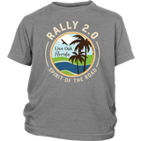 Rally 2.0 Youth Tee - Light Logo (Additional Colors Available)