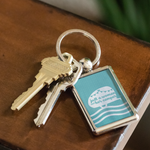 Women Who RV - Just a Woman... Keychain (Teal)