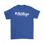 RVillage Men's Tee - Large Logo (Larger sizes and more colors available)