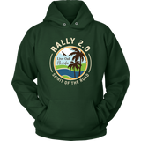Rally 2.0 Unisex Hoodie - Light Logo (Additional Colors Available)