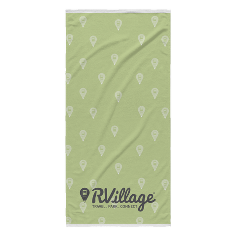 RVillage Beach Towel (Green)