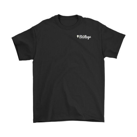 RVillage Men's Tee - Small Logo (Larger sizes and more colors available)