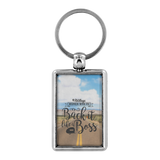 Women Who RV - Back It Like... Keychain