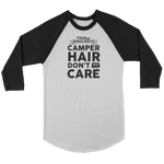Women Who RV - Camper Hair... Unisex Raglan Tee (Additional Colors Available)