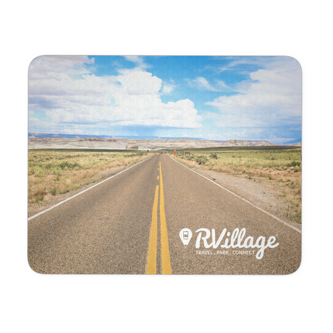 RVillage Printed Mousepad (Open Road)