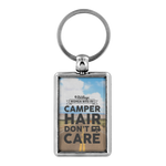 Women Who RV - Camper Hair... Keychain