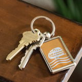 Women Who RV - Just a Woman... Keychain (Orange)