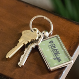 RVillage Logo Keychain - Green