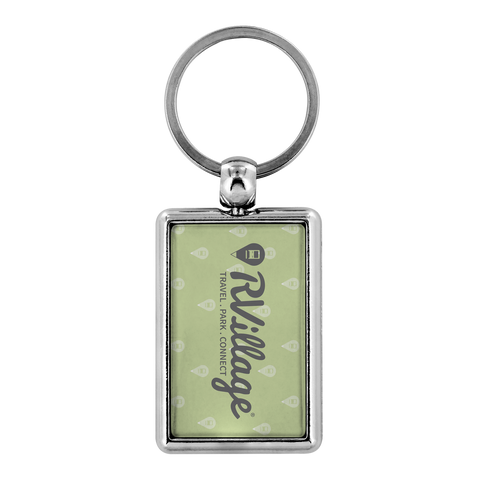 RVillage Keychain (Green)