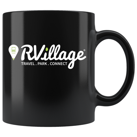 RVillage 11oz Coffee Mug (Black)