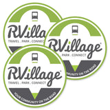 RVillage 5 inch Vinyl Decal/Sticker