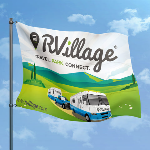 RVillage Flying Flag