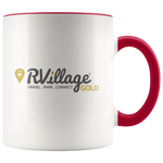 GOLD Level Member 11oz Accent Coffee Mugs (Additional Colors Available)