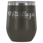 RVillage 12oz Insulated Wine Tumbler (Additional Colors Available)