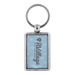 RVillage Keychain (Blue)
