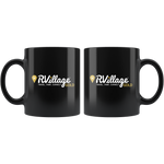 GOLD Level Member Black Coffee Mug