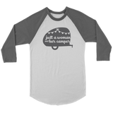 Women Who RV - Just a Woman... Unisex Raglan Tee (Additional Colors Available)