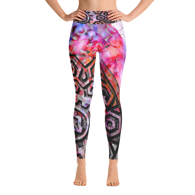 Transportation Yoga Leggings