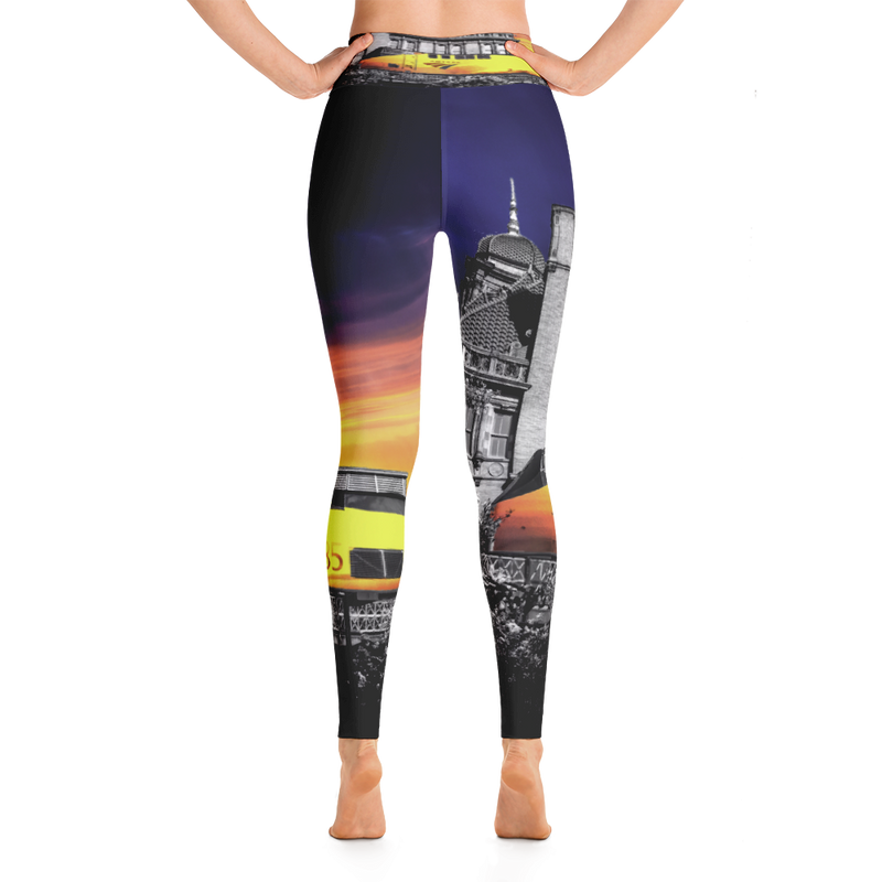 Sunrise Train Yoga Pant