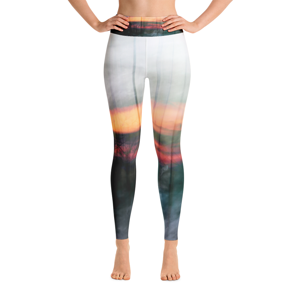 Fire Water Air Earth Yoga Pant