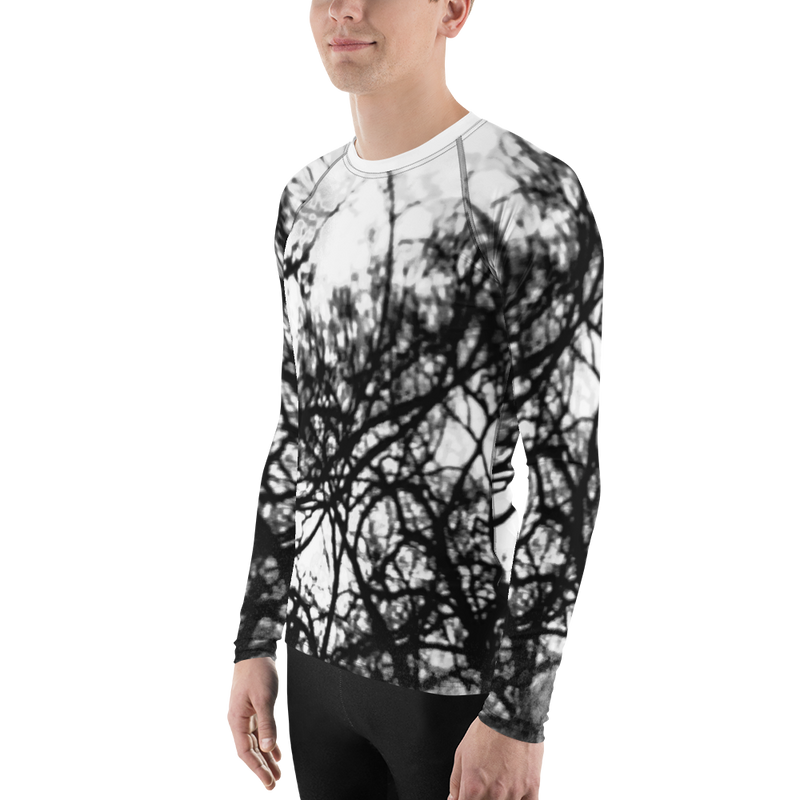 Tree Distortion Men's Rash Guard