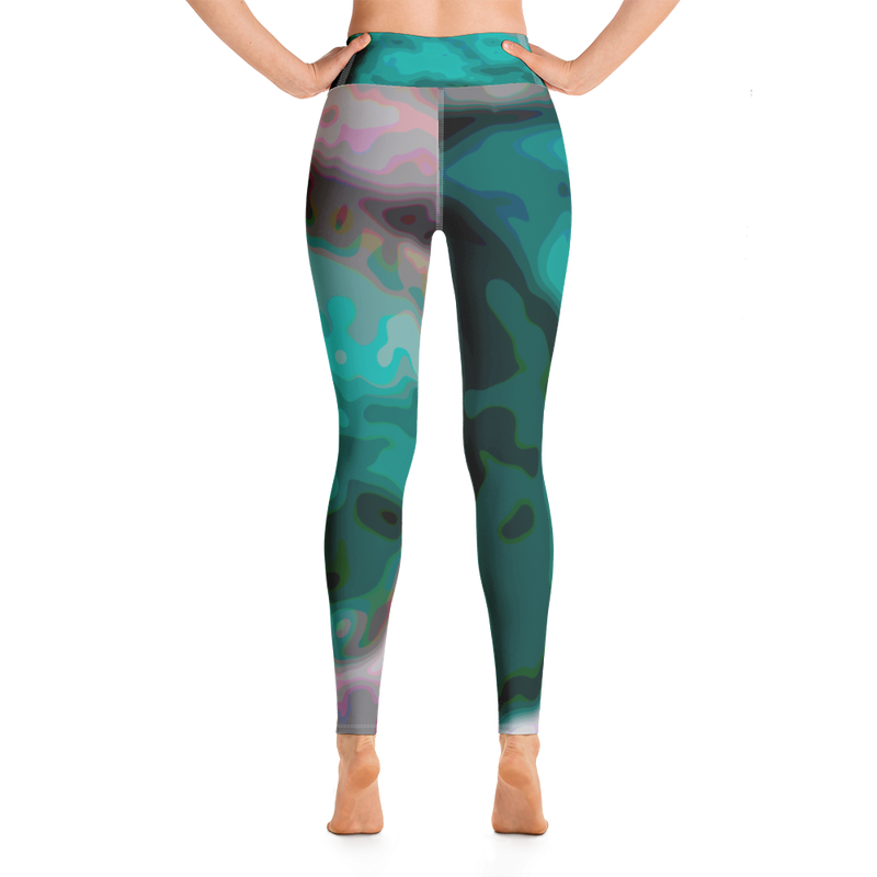 Blue Pool from the Yellowstone Collection Yoga Leggings