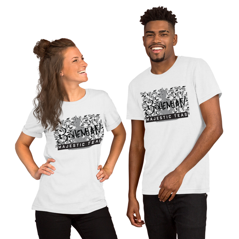 We All Love / Love Yourself Always Graffiti Railcar - Short-Sleeve Unisex T-Shirt