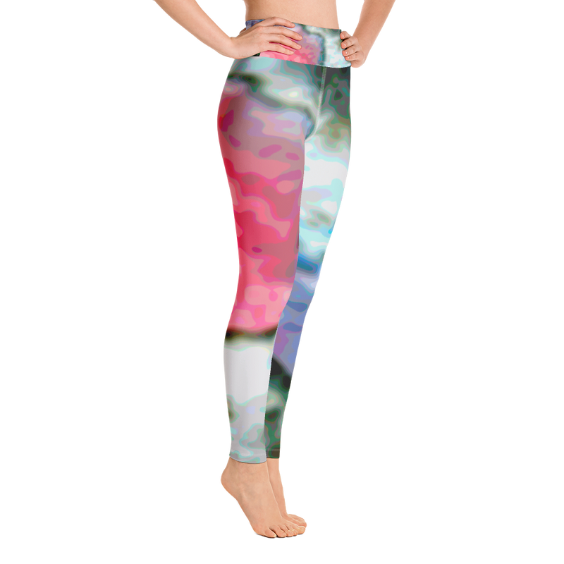 Pink Pool from the Yellowstone Collection Yoga Leggings
