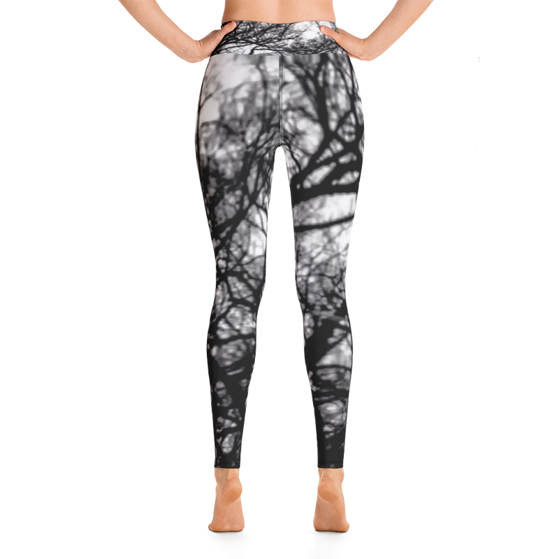Winter Trees Yoga Leggings