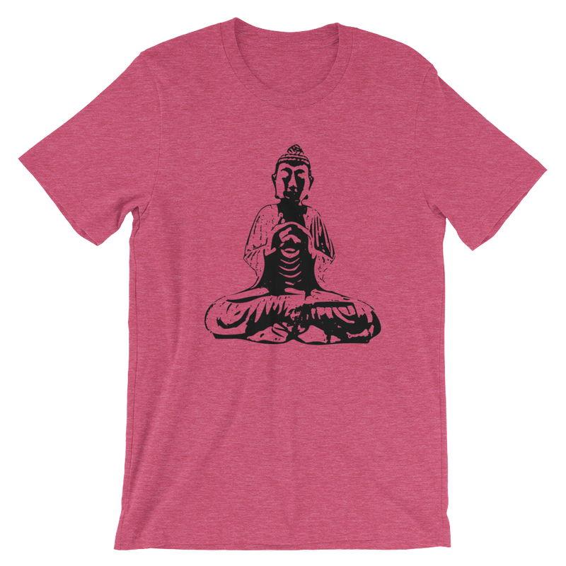 Meditating Monk Short-Sleeve Unisex T-Shirt