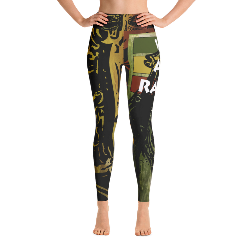 Once Upon A Time in Bytes-Yoga Leggings